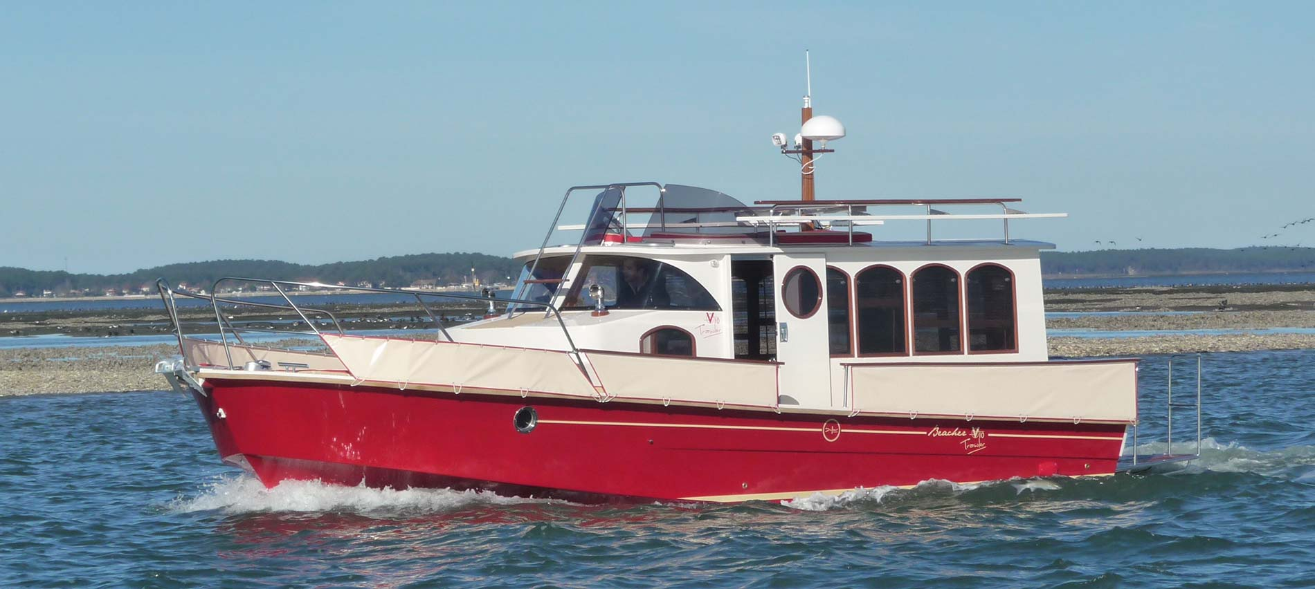 beacher nautique bateau plaisance 22