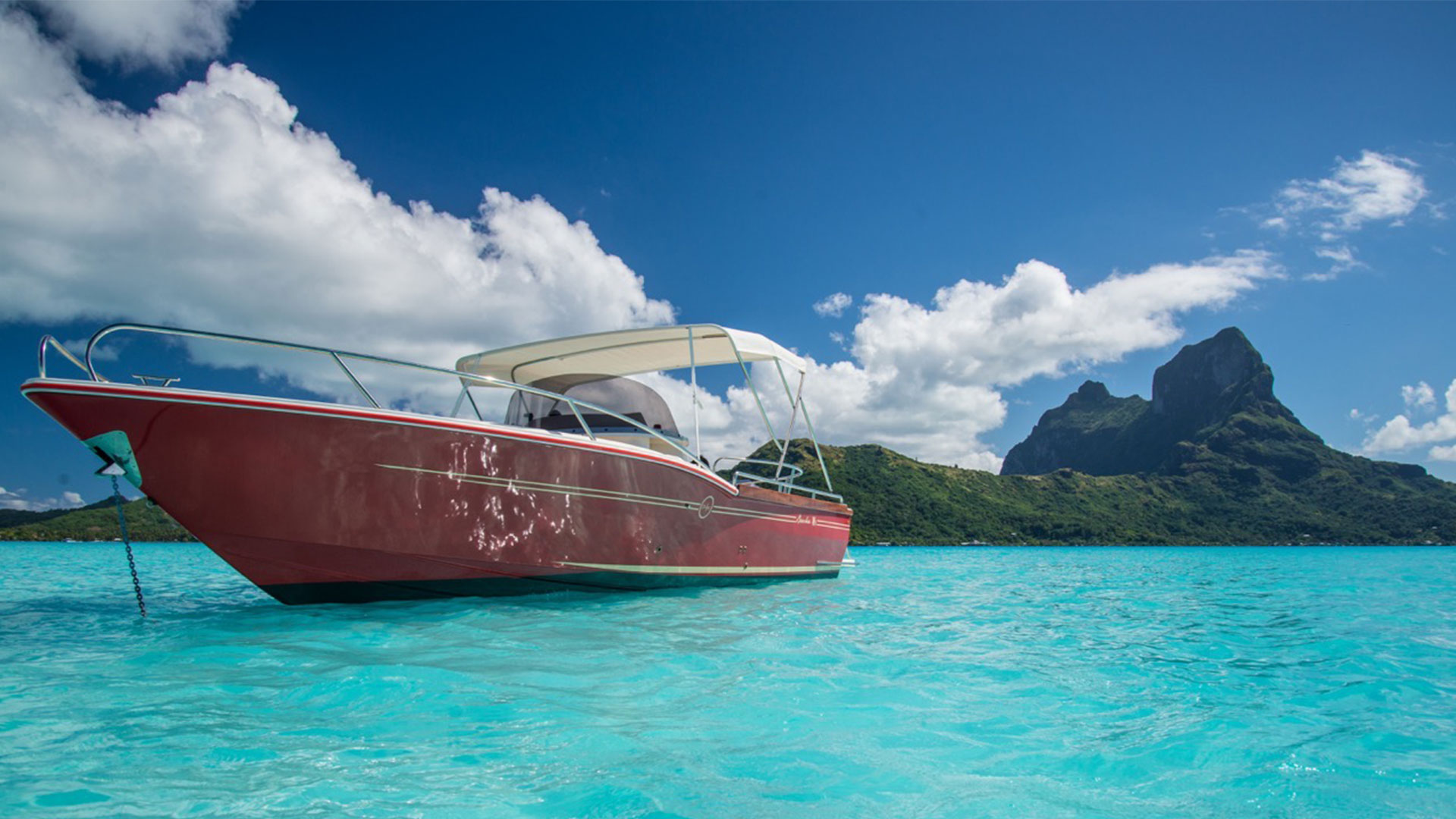 beacher nautique bateau v8 open 3