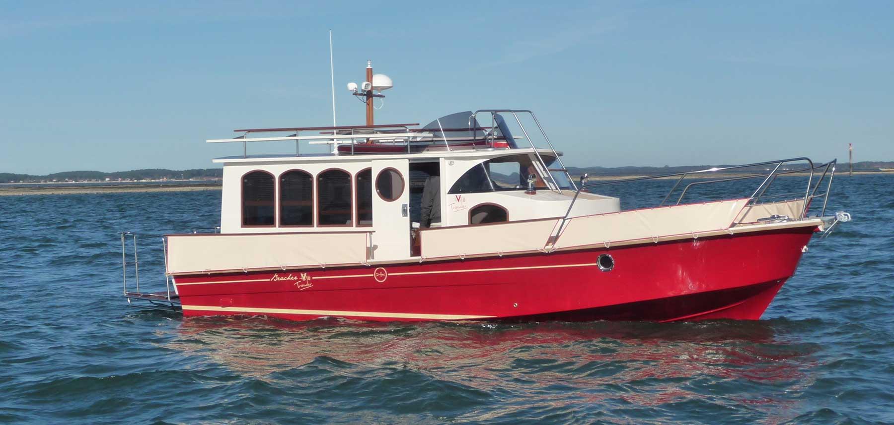 beacher nautique trawler construction bateau sur mesure 3