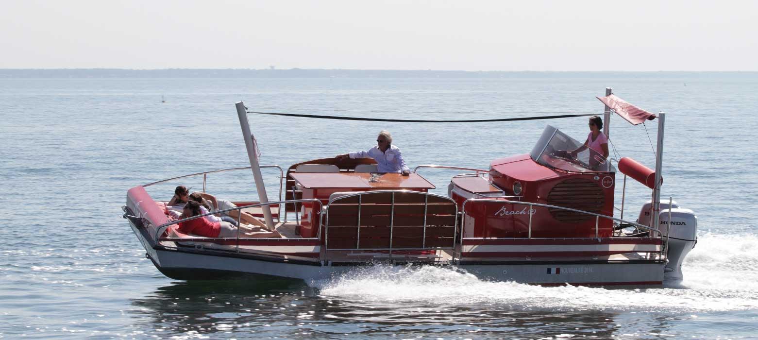 beacher nautique bateau de plaisance amis